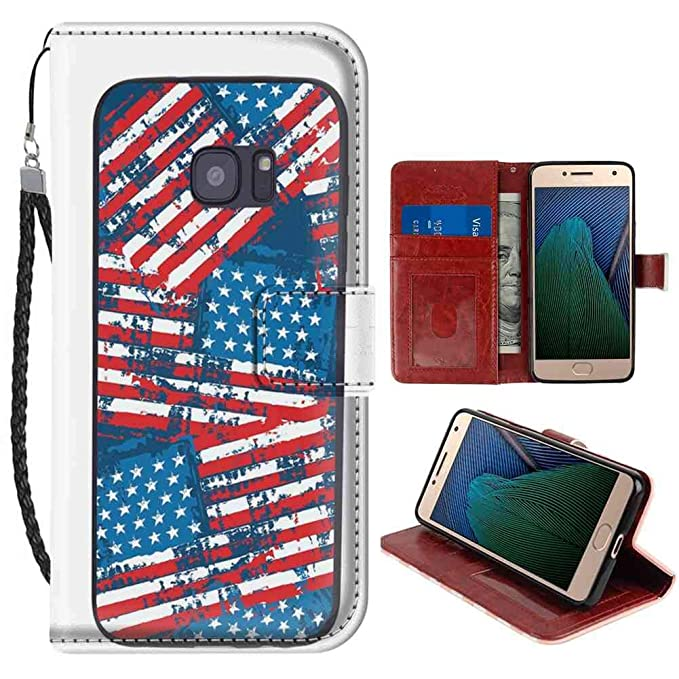 Amazon.com: Motorola Moto G5 Plus (5.5 Version) Wallet Case ...