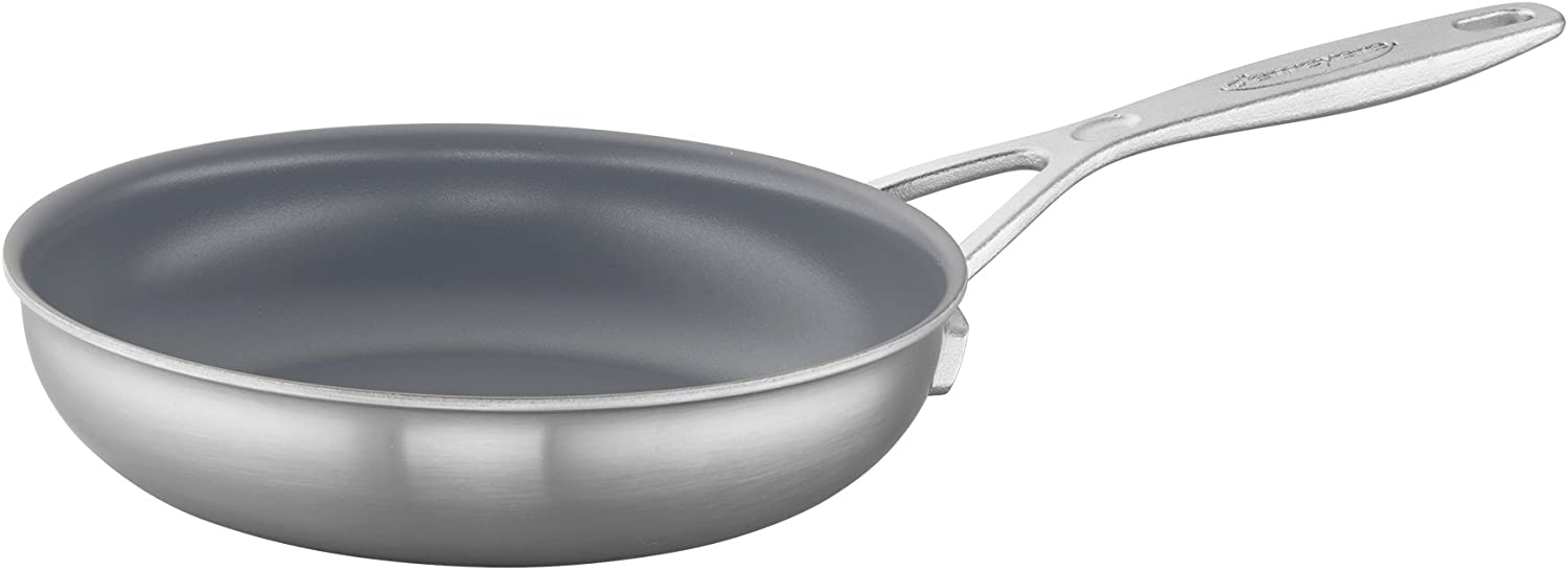Demeyere Industry 5-Ply 8-inch Stainless Steel Ceramic Nonstick Fry Pan