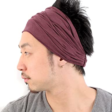 Casualbox Mens Head Cover Band Bandana Stretch Hair Style Japanese Mix  Enge  Amazon.in  Clothing   Accessories 97f0bbb3112