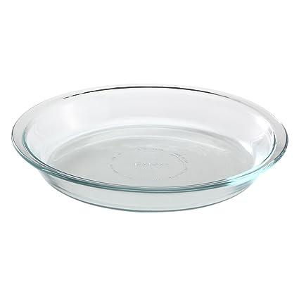 Pyrex Glass Bakeware Pie Plate 9u0026quot; x 1.2u0026quot; ...  sc 1 st  Amazon.com & Amazon.com: Pyrex Glass Bakeware Pie Plate 9