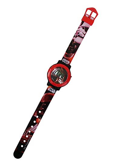 Reloj digital con tapa Star Wars Disney SW16389. Media Wave Store®: Amazon.es: Relojes