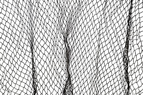 Authentic Dark Grey Fish Netting 5