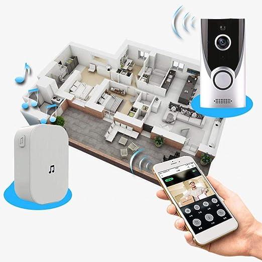 edited Home WiFi Smart Wireless Security Doorbell Visual Intercom Recording Video Kits