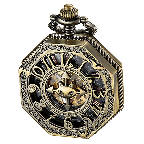 Pocket Watches Bronze Tone - 5