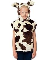 Déguisement Vache pour les enfants. Taille unique 3-9 ans.