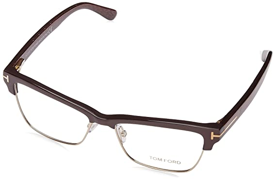 bb792641f8742 Tom Ford Rectangular Eyeglasses TF5364 048 Size  53mm Pearl Brown Gold  FT5364
