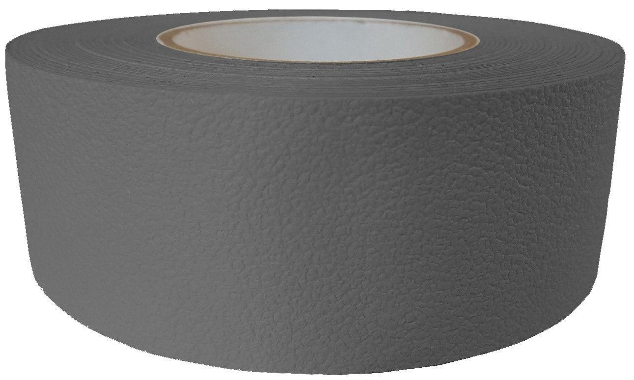 ifloortape Barefoot Friendly Rubberized Anti Slip Tape 2 Inch x 30 Foot Roll - Grey
