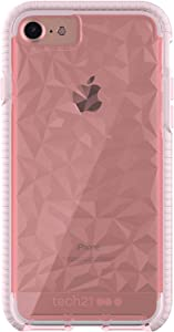 tech21 Evo Gem Phone Case for Apple iPhone 6/7/8/ and SE (2020) - Rose Tint (T21-5405)