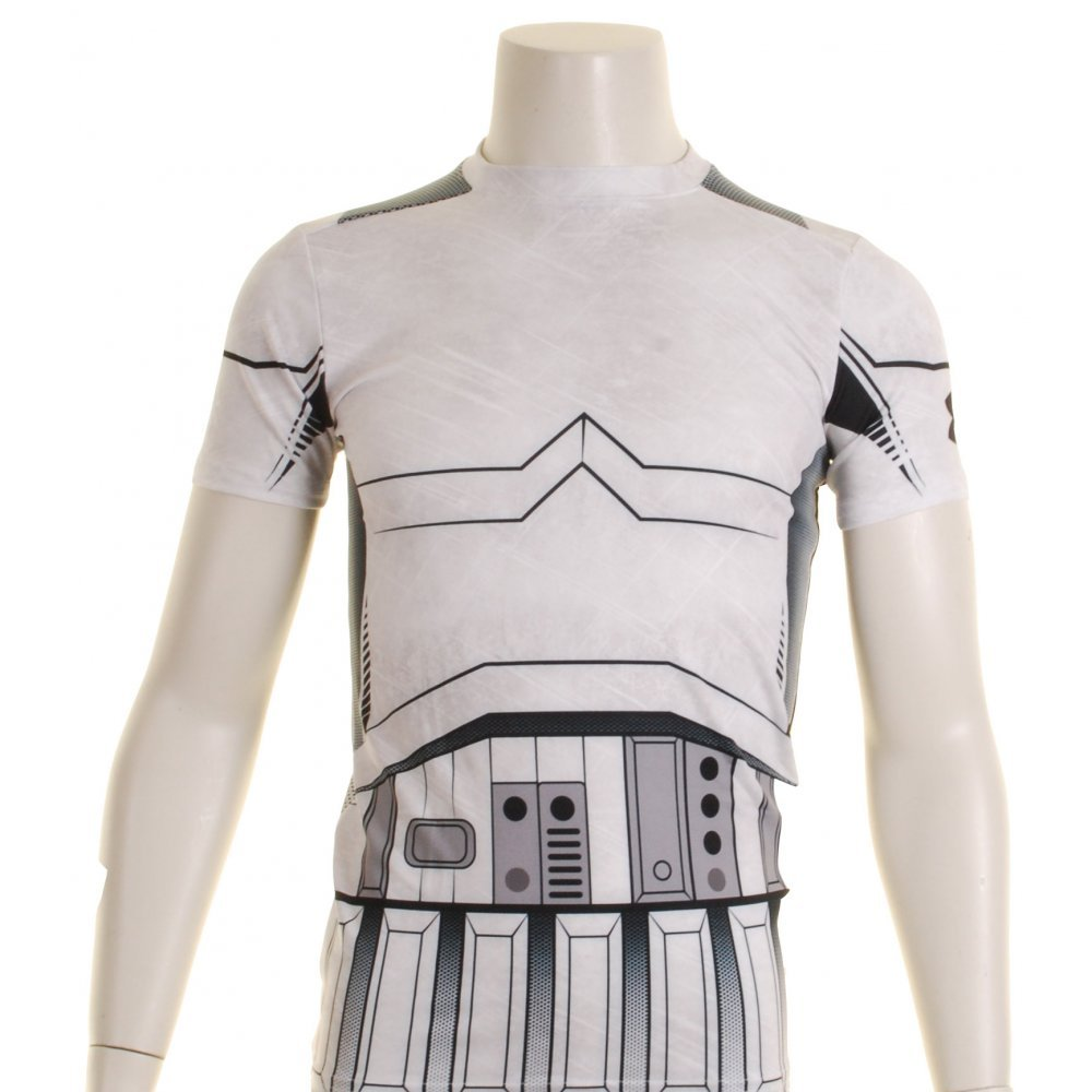 Under Armour Star Wars Compression Kids Base Layer Top X Small Trooper