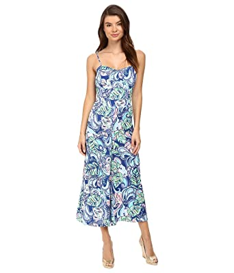 32565c9b2935 Lilly Pulitzer Women s Marnee Jumpsuit Multi Hanging with Fronds Jumpsuit 2