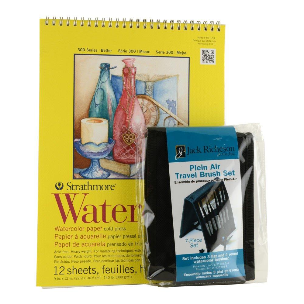 Hyatt's Watercolore Pad and Brush Set