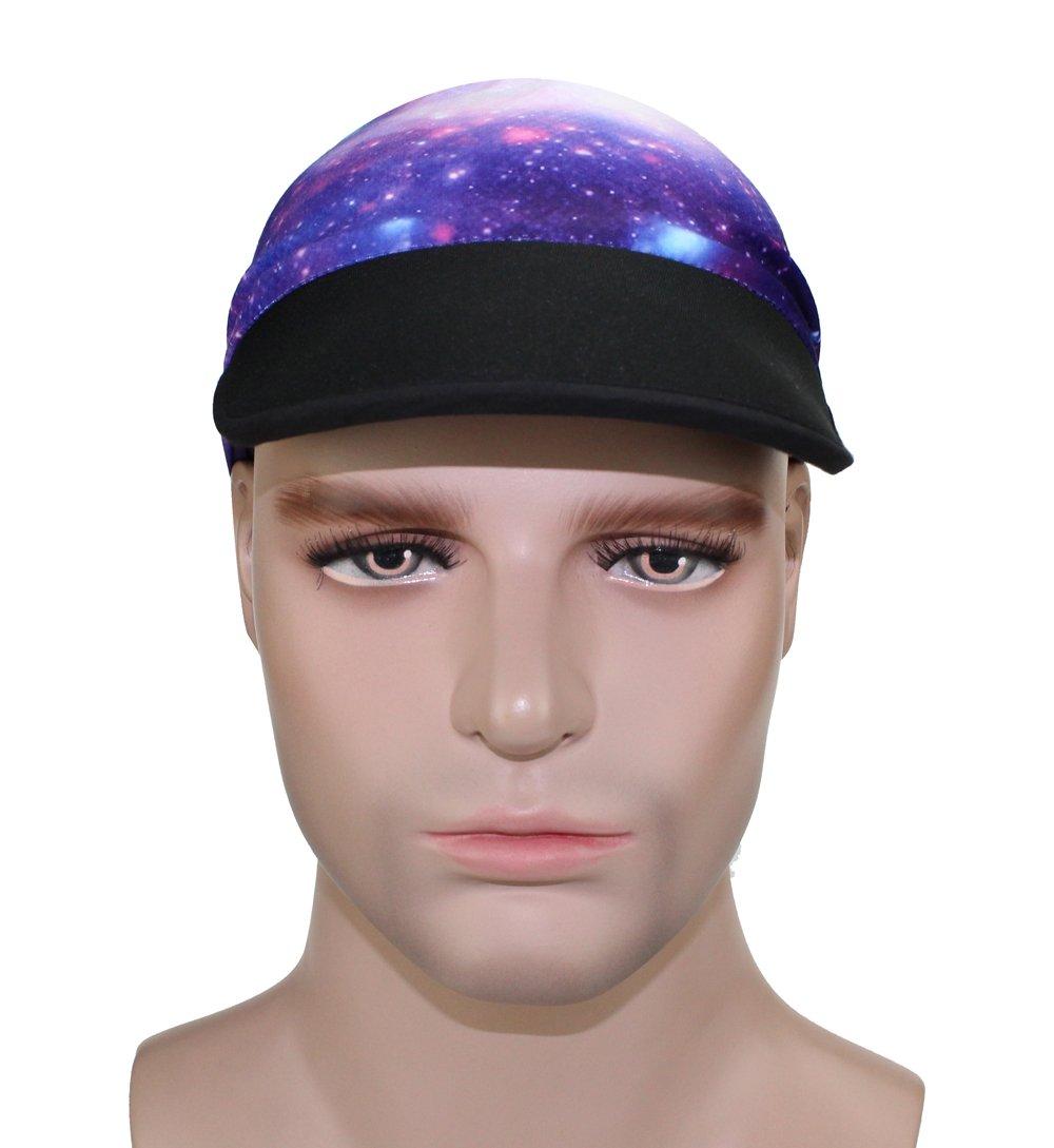 Outdoor Sport Hat Sunscreen Sun Visor Elastic Balaclava Magic Cap Sweat Absorption Ventilation Cycling Mask (EV-39) by GANWAY (Image #3)