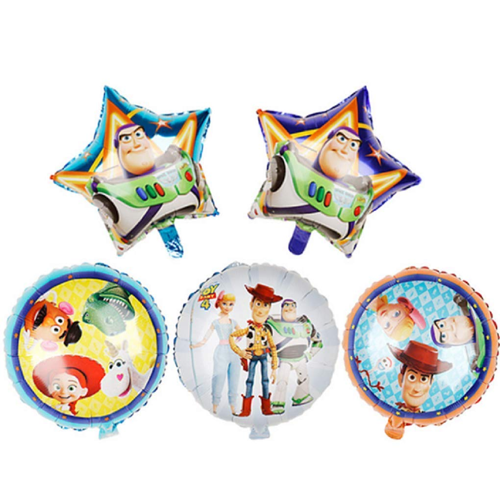 Toy Story Balloons Birthday Party Supplies Foil Balloons Bouquet for Kids Baby Shower Birthday Party Decorations