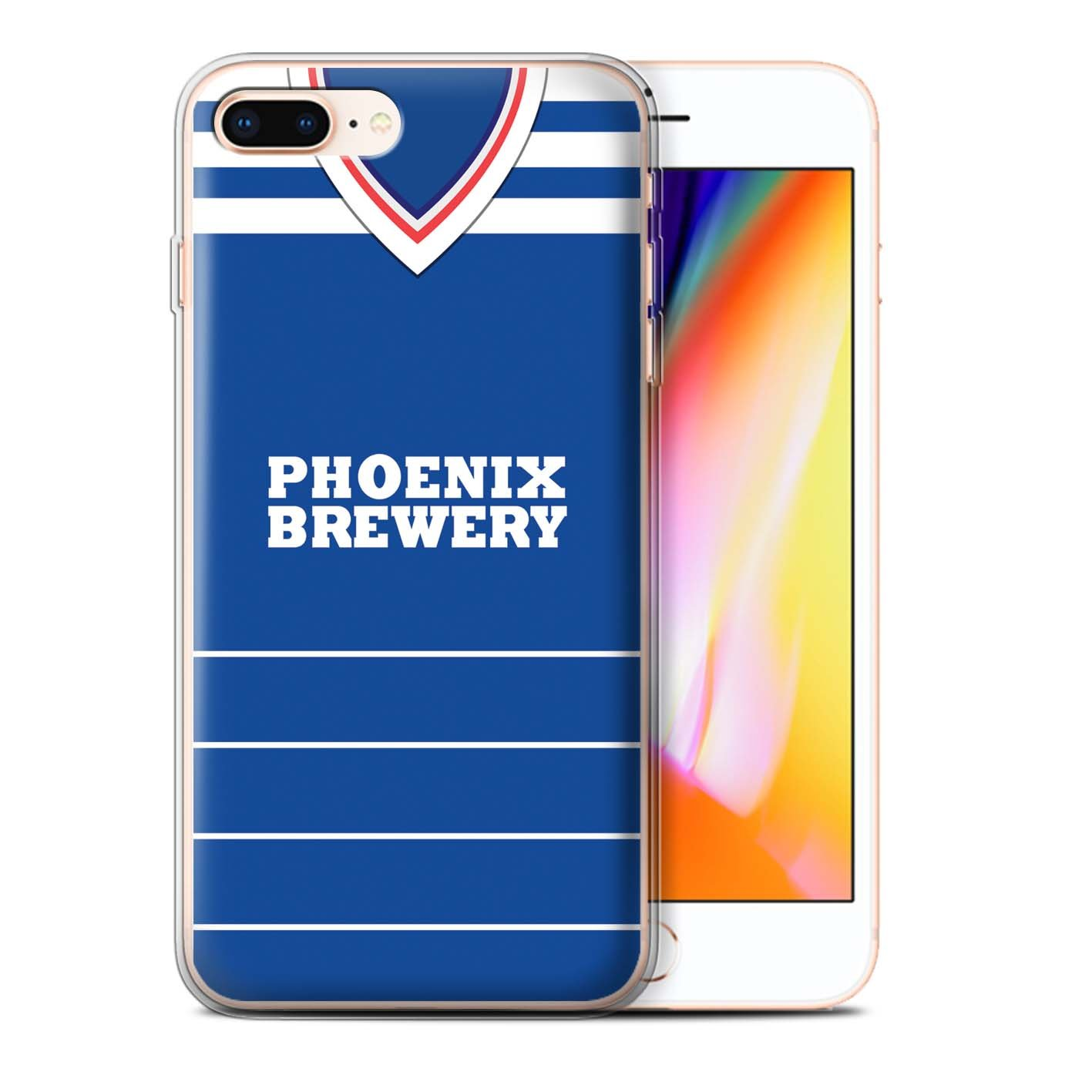 Retro Clasico Phone Case/Cover/Skin/ip-gc/retro camiseta de fútbol/Kit división 1 Colección Brighton 1985 Apple iPhone 8 Plus: Amazon.es: Informática