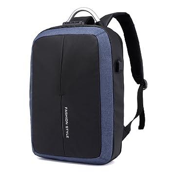 Bainuojia Mochila para Hombre con Diseño ergonómico, Premium Laptop Mochila para Portátil, Backpack/Mochila Escolar/Daypack para Hombres y Mujeres Azul ...