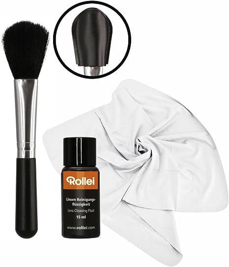 Rollei Lens Cleaning Set para Limpiar en húmedo Objetivos, Lentes ...