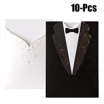 Buy Fascigirl 10 Pcs Wedding Invitation Card Wedding Paper