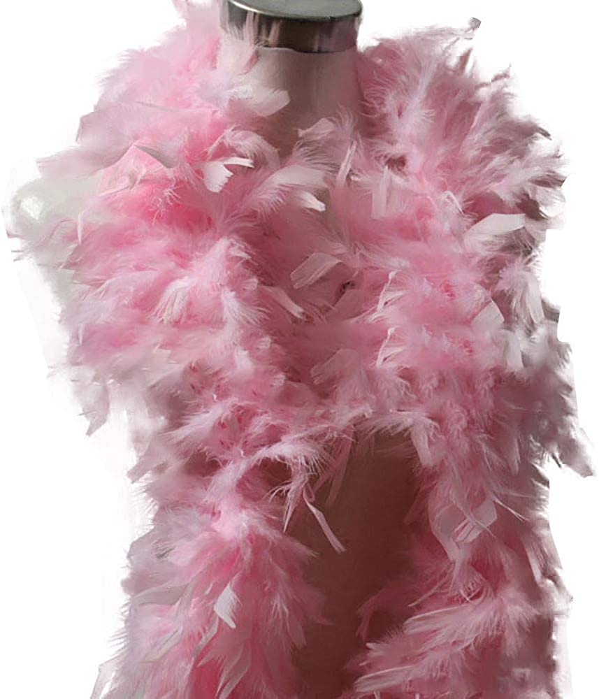 Echarpe en Coton Quality White Feather Boa Flapper Hen Night Burlesque Dance Party Show Costume NEEKY Femmes ch/âle en /écharpe