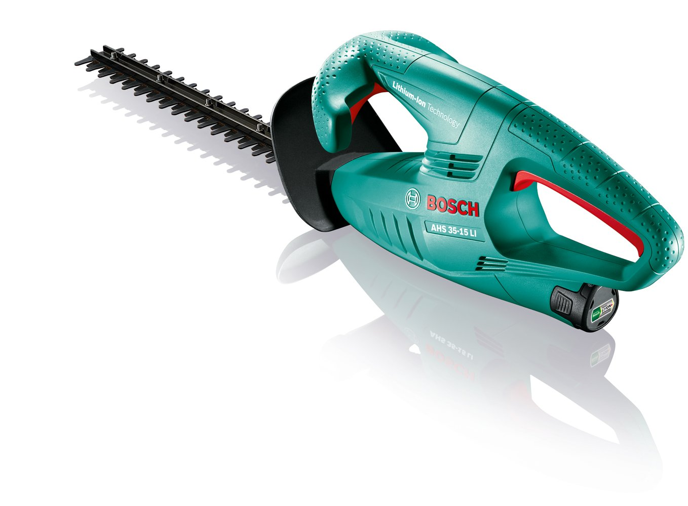 Bosch AHS 35-15 LI Cordless Hedge Cutter Without Battery and Charger, 350 mm Blade Length, 15 mm Tooth Opening 0600849B02