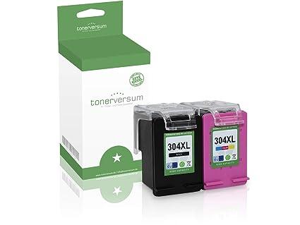 2 Cartuchos de Tinta compatibles con HP 304XL N9K08AE ...