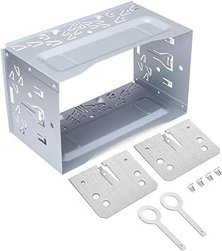 Loetad 2din Einbaurahmen Metal Eisen Einbauschacht Elektronik