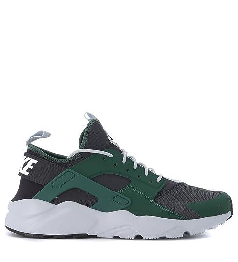 51d802bce4f37 Nike Man s Nike Air Huarache Ultra Green And Black Sneaker 41(EU) - 8(US)  Green  Amazon.ca  Shoes   Handbags