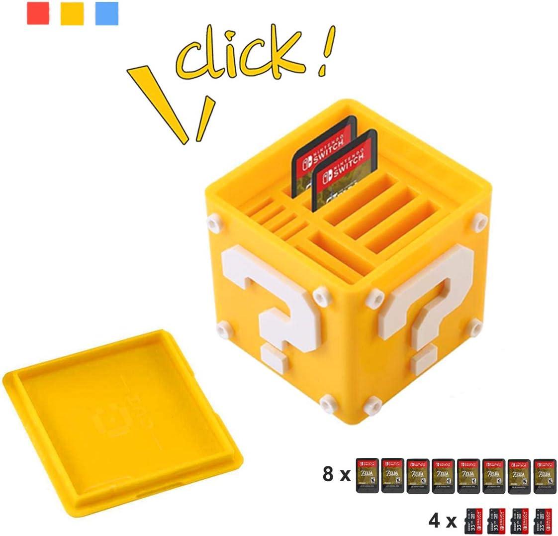 Estuche para Juegos de Nintendo Switch, AOLVO 12-en-1 Lindo Funda ...