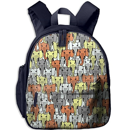 African Wild Elephant Kids Lightweight Daypack For Summer Camp