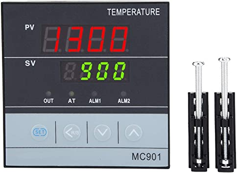 ℉ Universal Digital PID Temperature Controller with SSR Output and 2 Alarms