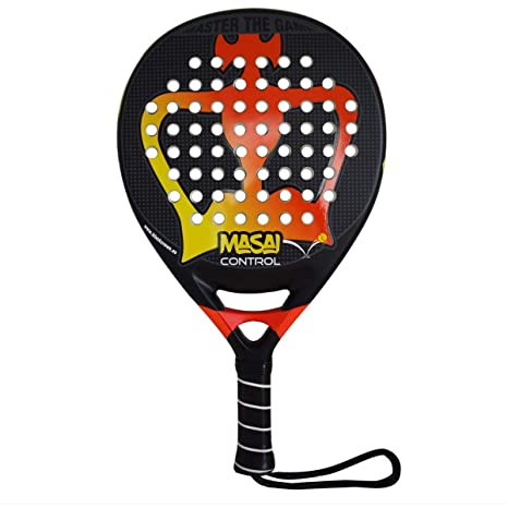 Pala de Pádel Masai Control - Black Crown: Amazon.es: Deportes y ...