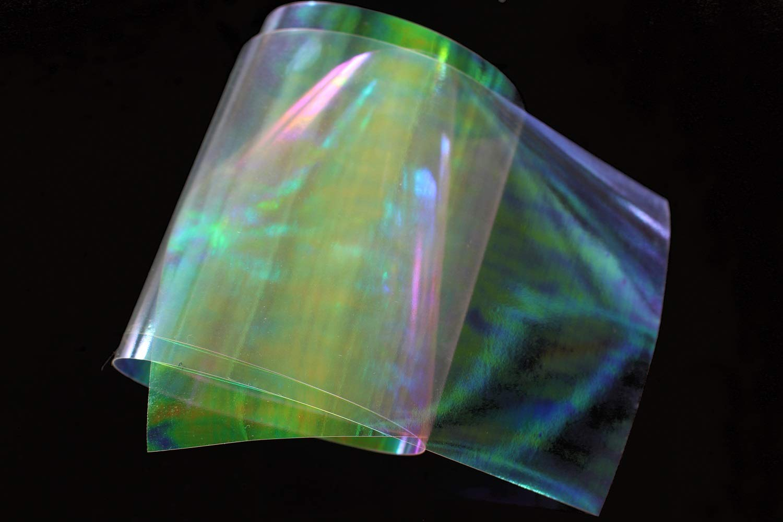 Sabiki-Rig Tigofly Fliegenbinder transparent Scud Nymphe Shrimp Back Wings Regenbogenfolie Materialien. Fliegenbindung 19 x 10 cm