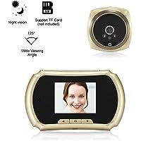Extaum Peephole Door Camera 1.3MP 3-Inch Pantalla LCD