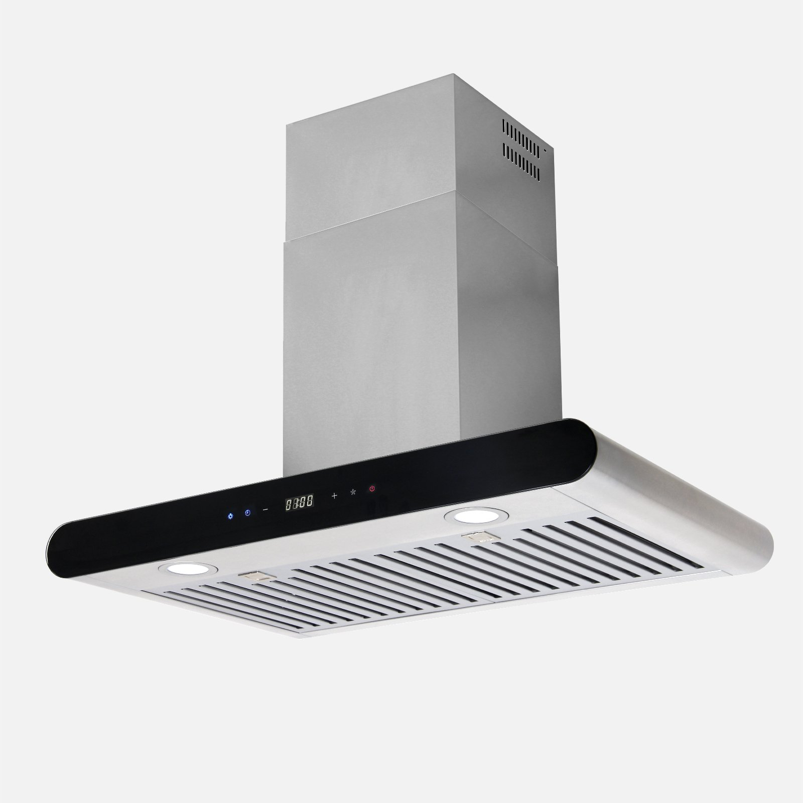 Kitchen 30'' Stainless Steel Wall Mount Range Hood LED Light Aluminum Filters Stove Vent WL-0035030