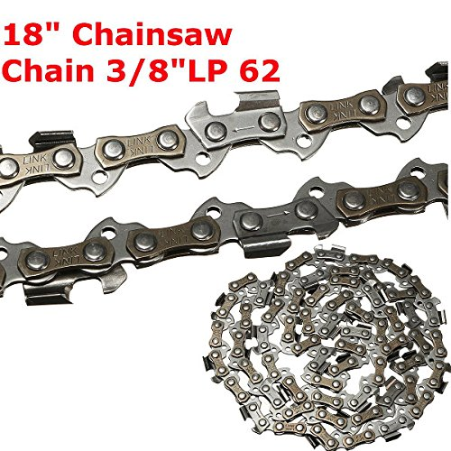 Best to Buy New 18 Inch 62 Drive Substitution Chain Saw Saw Mill Chain 3/8 Inch Links Pitch 050 Gauge husqvarna chainsaw mill ripping chain worx parts greenworks (Chain Link T-shirt)