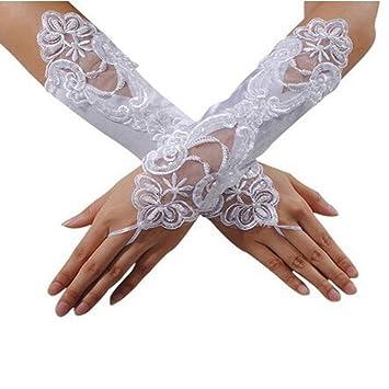 Satinhandschuhe Opera Hochzeit Braut Abend Party Kostüm Handschuhe