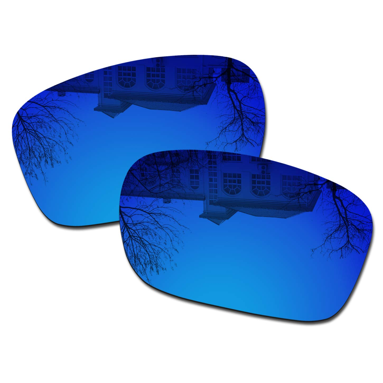 Millersawp Holbrook OO9102 Replacement Lenses Compatiable with Oakley Sunglass-Dark Blue Iridium by Millersawp