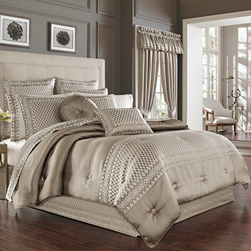 Five Queens Court Beaumont King Comf Set, Champagne (Bedding Champagne)