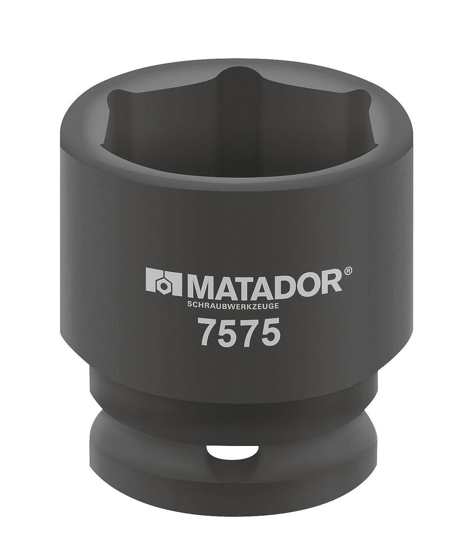 7575 0360 20-3//4 Matador Kraft-Steckschl/üsseleinsatz 36 mm
