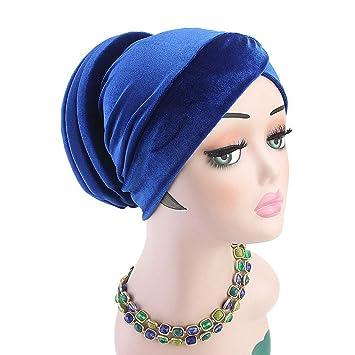 4e5b58e94e5 Sinohomie womens beanie winter hat muslim turban india ruffle cancer chemo hat  beanie scarf jpg 355x355