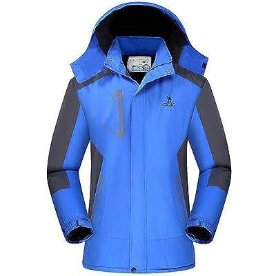 HGH Warm Waterproof Wearproof Sport Outdoor Hooded Climbing Training Winter Ployester for Mens Cool Workout Windbreaker Jackets