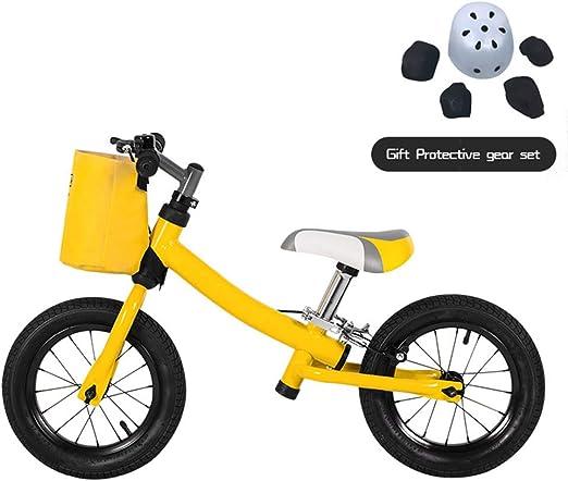 HHXX Bicicleta de Equilibrio para niños, Bicicleta de ...