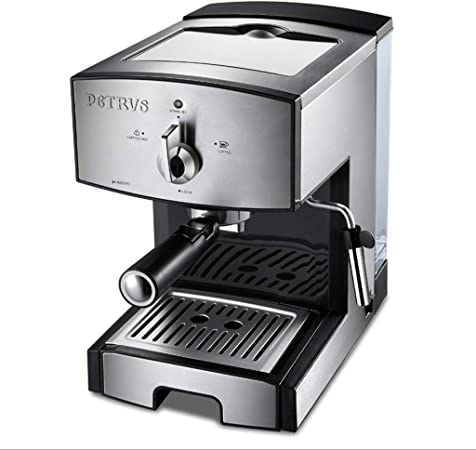 Cafetera semiautomática de 1350 W / 20 barras, cafetera de café ...