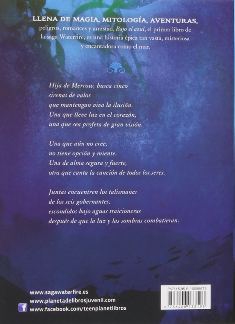 Bajo el azul: Waterfire 1 (La Isla del Tiempo Plus): Amazon.es: Jennifer Donnelly, Editorial Planeta: Libros