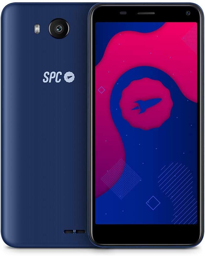 "SPC SMART - Smartphone de 5"" (Dual SIM, 16GB de ROM ampliables, 2GB de RAM, cámara de 8MP, Quad-Core 1,3GHz, Android 9) – Color Azul: Amazon.es: Electrónica"
