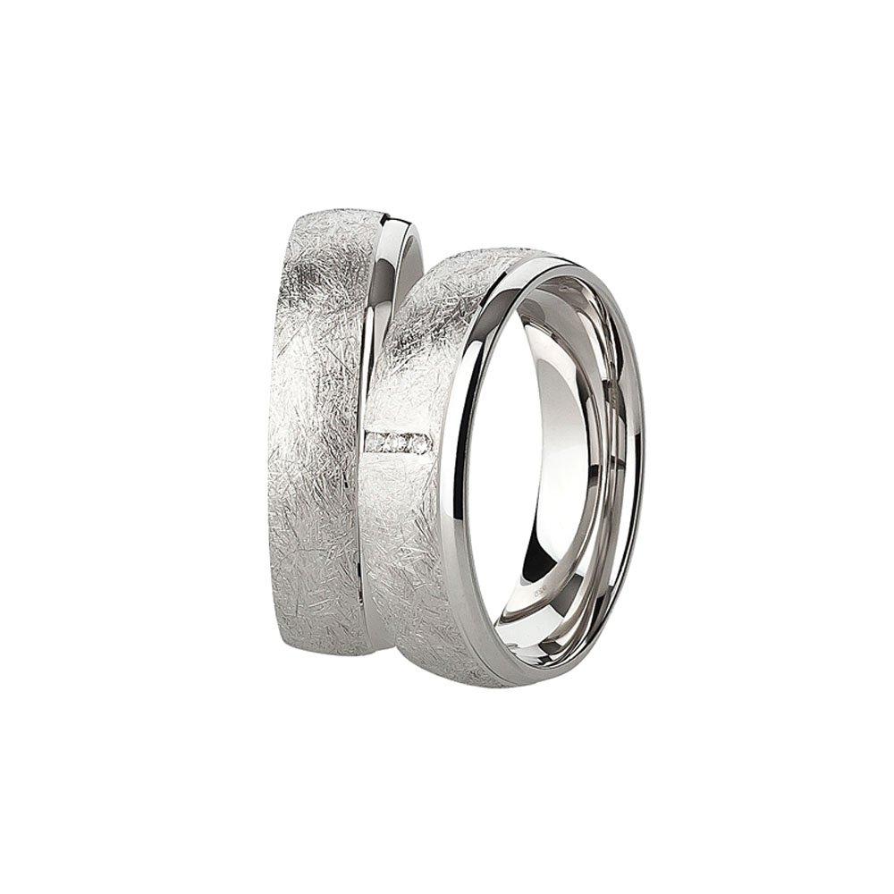 Trauringe (paar) / Eheringe / Freundschaftsringe / Verlobungsringe / Silber 925 Trauringhaus 12345678