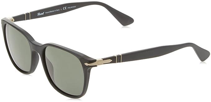 Persol Men s PO3164S Sunglasses Black Green 56mm at Amazon Men s Clothing  store  e388ffabd07b