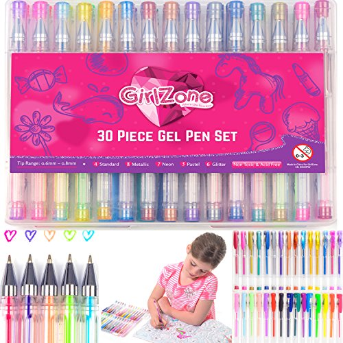 Gel Pens for Girls
