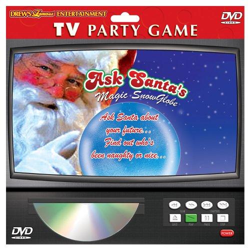 TV PARTY GAME: ASK SANTA'S MAGIC SNOW GLOBE DVD