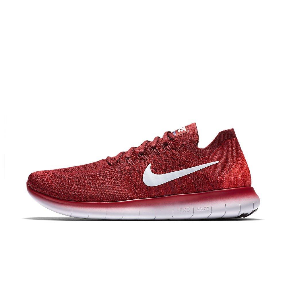 Nike Free Rn Flyknit 2017, Scarpe da Trail Running Uomo, Rosso (Team Red/Pure Platinum/University Red 600), 44.5 EU