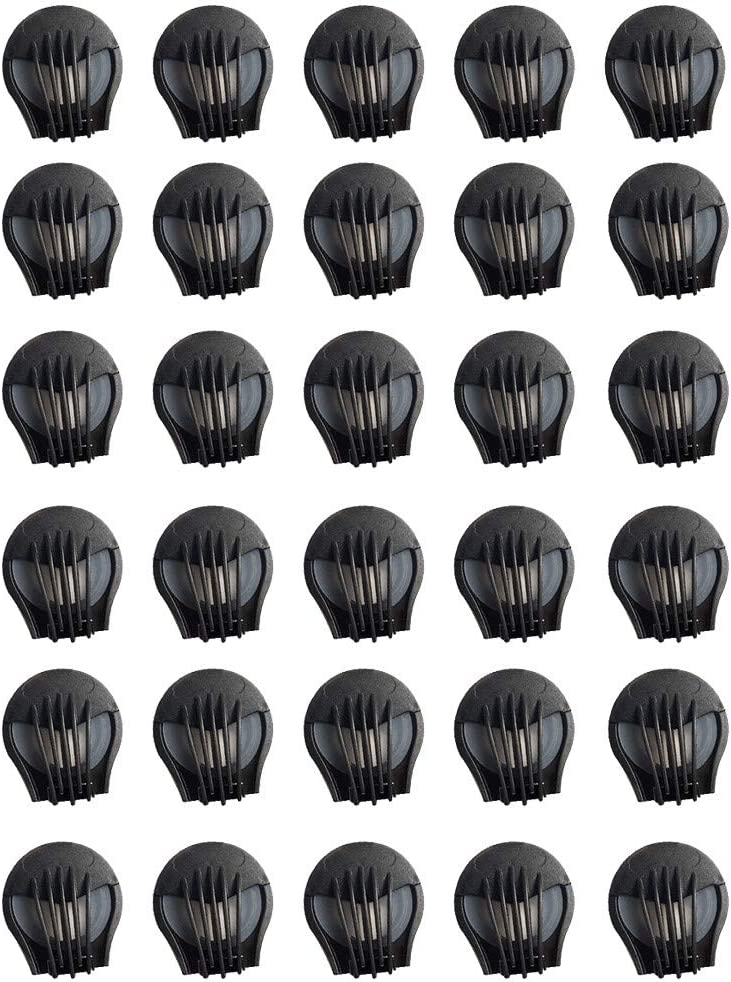 30Pcs Anti Dust Face Cover Air Breathing Valves Replacements Accessories - Anti Pollution Face Cover Mouth Filter Air Breathing Valves Filter Accessories (Black)